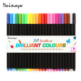 Brilliant Fineliner Pens: Set of 24 Colors