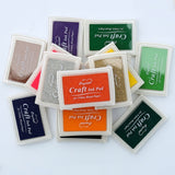Ink Stamp Pad: 15 colors