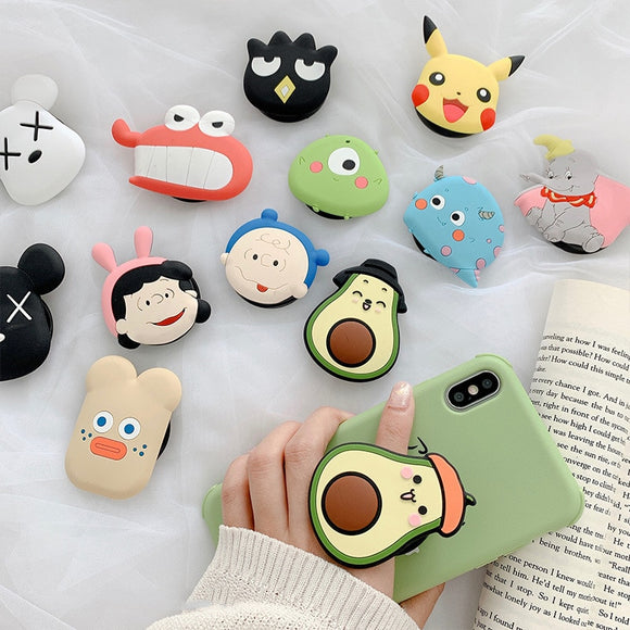 Kawaii Phone Grip Holder / Pop Socket