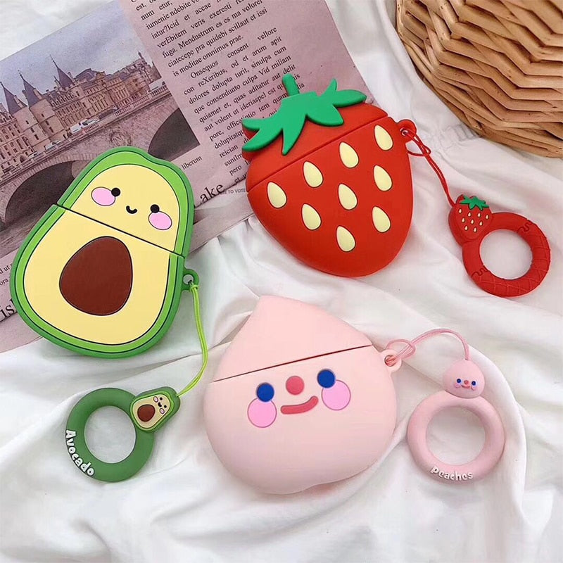 Kawaii Fruit AirPod Case: 13 designs