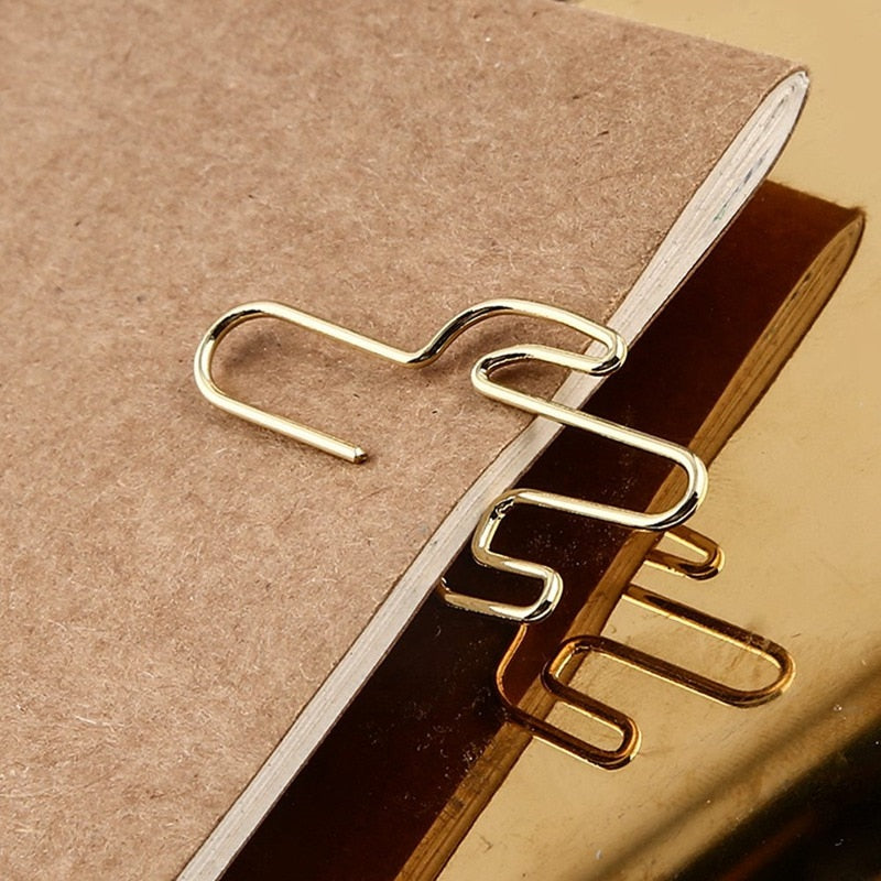 Aesthetic Paper Clips: 6 designs to choose from