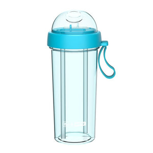 Double Straw Bottle: 5 colors