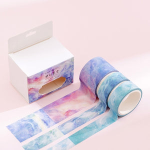 Dreamy Watercolor Washi Tape Set