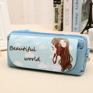 Beautiful World Pencil Case: 3 colors