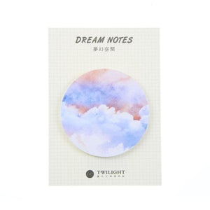 Galaxy Dream Sticky Note: 8 designs to choose from!
