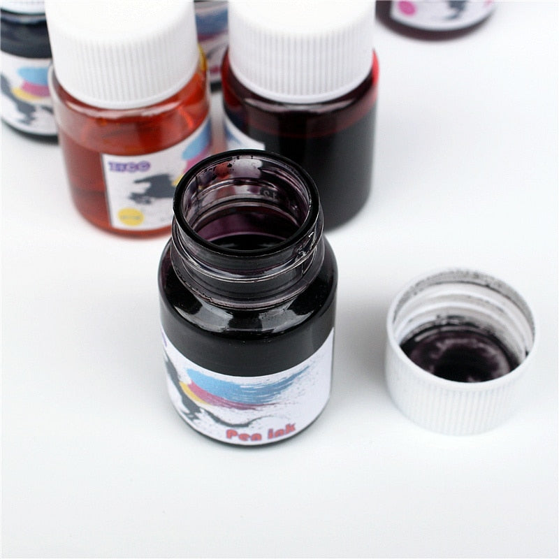 Fountain Pen Ink Refill: 10 colors!