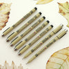Set of 7 Sakura Pigma Micron Pens
