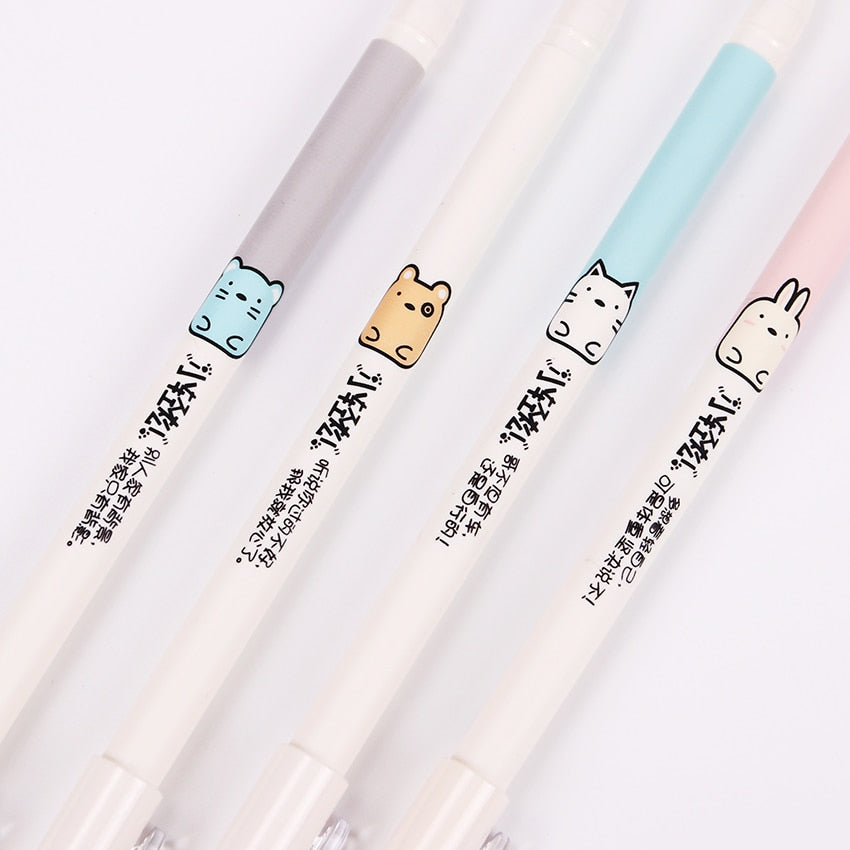 Cute Animal Pens: Set of 4
