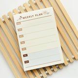 Monthly Weekly To-Do's Daily Memo Planner
