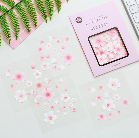 Cherry Blossoms Sticker Set