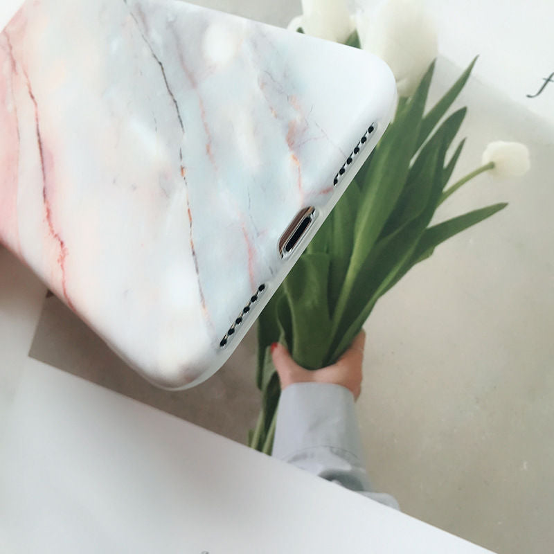 Stylish Marble iPhone Case Series