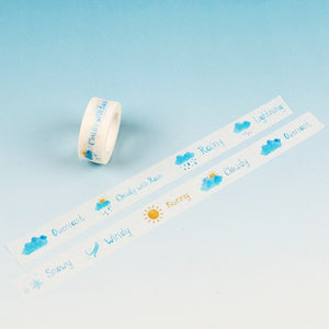 Date, Month & Travel Scrapbooking Washi Tapes: available in 11 designs