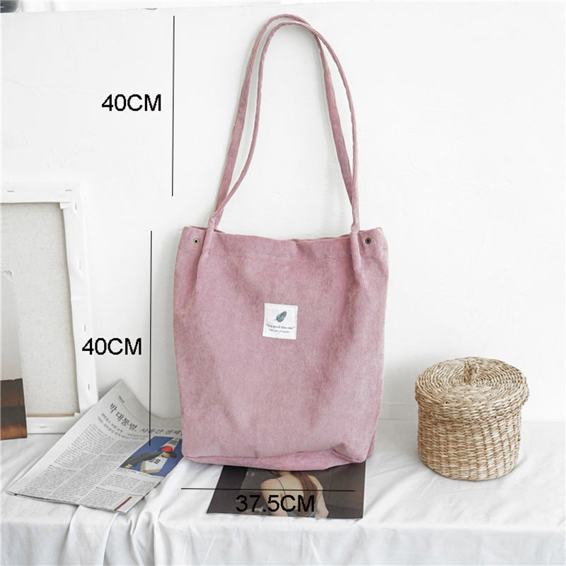 Cord Tote Bag: 6 colors