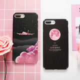 Matte Night Sky iPhone Case