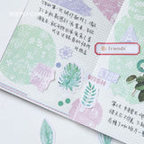 Tropical Leaves Sticker Set