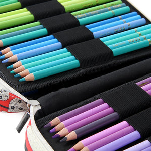 150 Slots Pen Organizer Bag: 13 lovely designs to choose from!