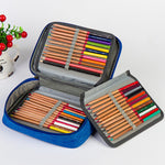 Multiple Layer Pencil Case Organizer: 4 colors
