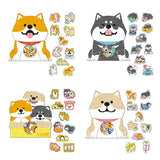 Shiba Inu Stickers: Set of 30
