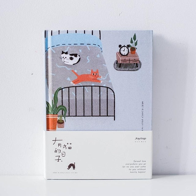Kawaii Cat Pastel Planner