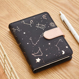 Constellations Leather Planner: Mixed Pages