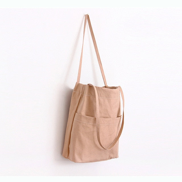 Canvas Shopping Tote: 9 colors