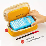 Foldable Korean Style Pencil Case: 9 colors