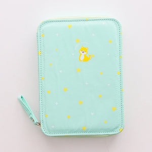 Sparkle Animals Pencil Case: 4 colors