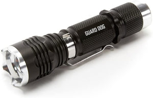 Guard Dog Security Apex - Double-Sided Stainless Steel 210 Lumen Flashlight