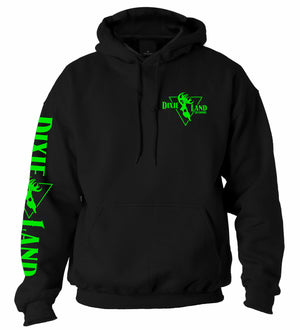 Hunting hoodie Dixie Land Outdoors Bowhunter bowhunting deer skull archery