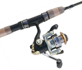 Elite 7' 2PC Spinning Ultralight Trout Combo/ 5 BB Reel 2-6 Lb