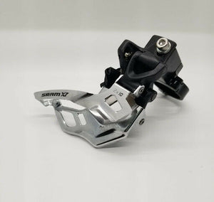 SRAM X7 2x10 dual-pull front derailleur high clamp (FREE SHIPPING)