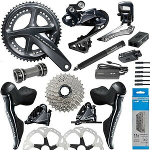 New 2020 Shimano Ultegra Di2 R8050 R8070 R8000 Full Electric Disc Brake Groupset