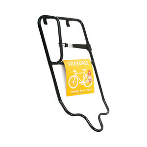 Fairdale Bikes Pannier SkateRack Skateboard Holder Black for Rear Bicycle Rack
