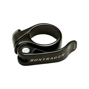 Bicycle Quick Release Seatpost Clamp Black 32mm