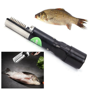 120W Electric Fish Scale Remover Scaler Cleaner Tool Stainless Steel HOT SALE