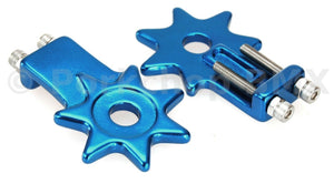BMX bicycle star spur chain tensioner for 3/8