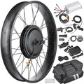 48V Front Fat Tire Electric Bike Conversion Kit 20