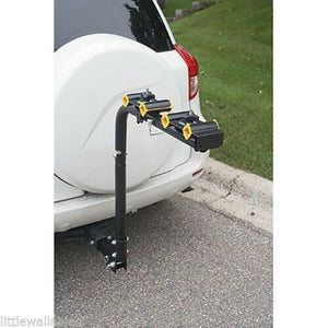 2 - 4 Bicycle Bike Rack Hitch Mount Carrier Car Swing Down 120lbs capacity