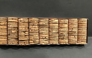 Cork Rings 12  Burl Mix #7,  1 1/4