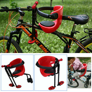Kids Bicycle Chair Baby Bike Safety Seats Toddler Child Seat with Foot Pedal US