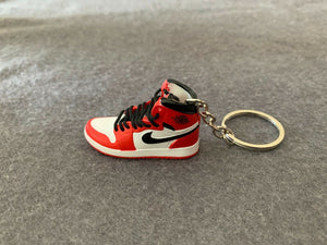 Fashion Mini 3D Handcrafted Sneaker Keychain USA Seller