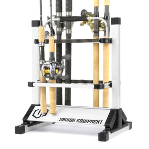 Aluminum 12+ Fishing Rod/Pole Rack
