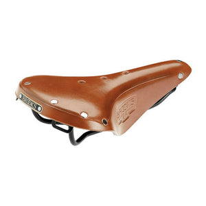 Brooks England B17 S Standard Women's Bike Saddle (Honey/ Black Steel Rail)
