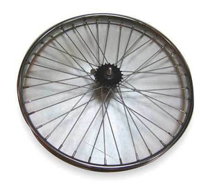 WORKSMAN 4136A Bicycle Wheel,26 x 2-1/8 In. Dia.