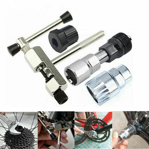 4PCS Mountain Bicycle Repair Tool Bike Crank Wheel Puller Pedal Remover Tool US