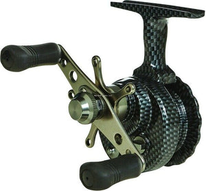 New Eagle Claw Micro Inline Reel Graphite Carbon Color ECMCILIR