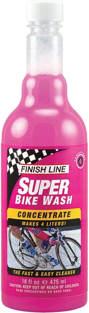 Finish Line Super Bike Wash Concentrate, 16oz (Makes 2 Gallons)