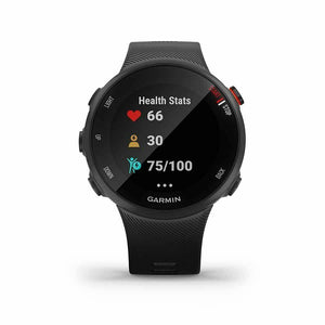 Garmin, Forerunner 45 Small, Watch, Watch Color: Black, Wristband: Black - Silic