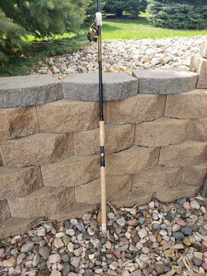 40% OFF 9' Telescopic Musky Rod Muskie Northern Pike Catfish Saltwater Fishing