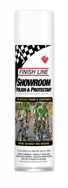 FINISH LINE BICYCLE BIKE SHOWROOM POLISH PROTECTANT SPRAY 11 OZ NEW